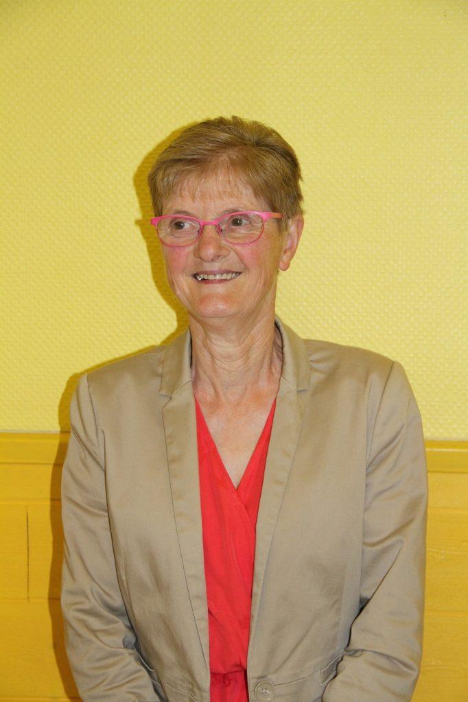 Yolande PESQUEUX - Adjointe au Maire élue le 15 mars 2020